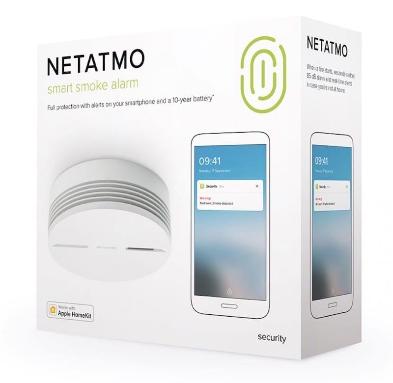 Netatmo détecteur de fumée connecté prix avis test packaging