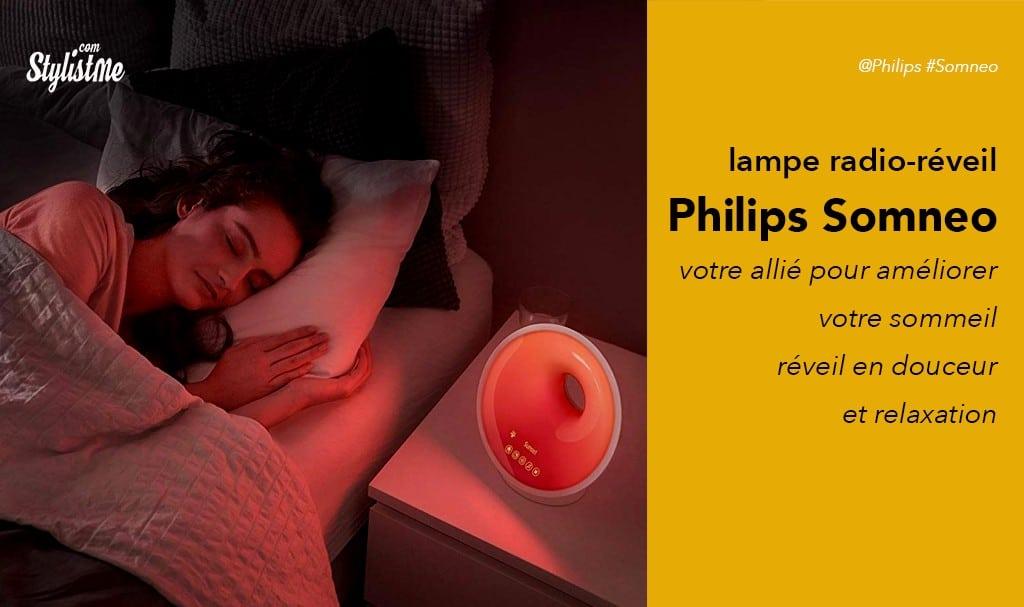 Philips Somneo avis test lampe radio-réveil et endormissement