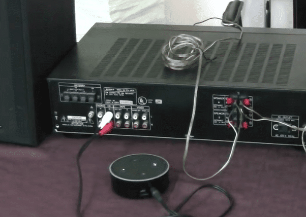 connecter amazon echo a ampli