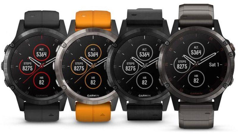 Garmin Fenix 5 Plus comparatif montre connectée