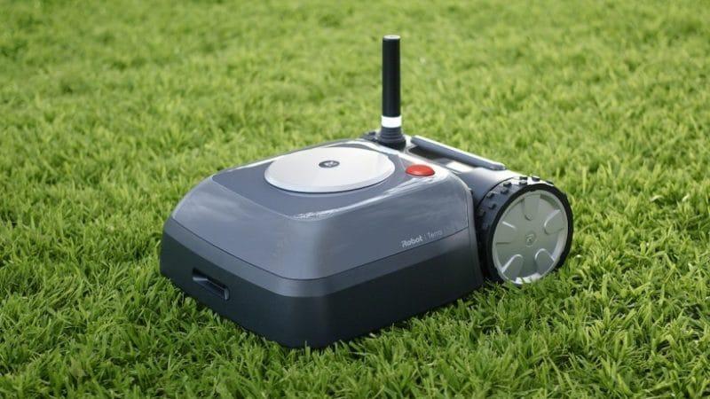 irobot terra prix avis test robot tondeuse design