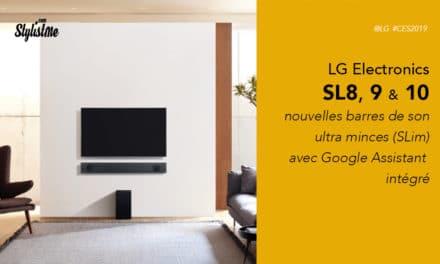 LG SL8 SL9 SL10 avis test prix barres de son Google Assistant intégré