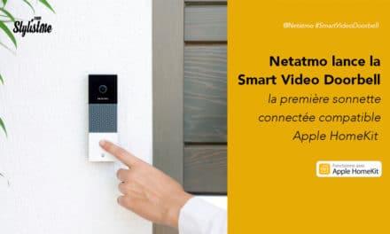 Sonnette vidéo Netatmo prix avis : connectée et compatible HomeKit