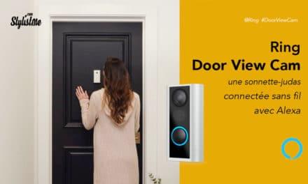 Ring Door View Cam prix avis test sonnette judas vidéo connectée