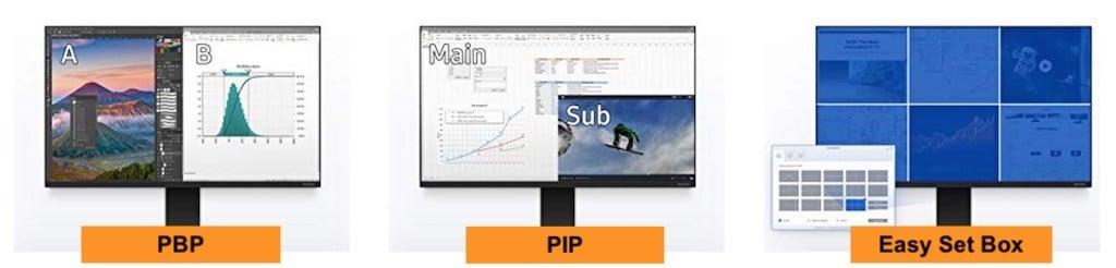 samsung space monitor resolution prix avis test