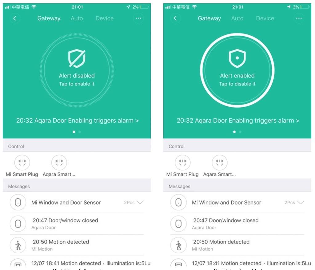 Système d'alarme HomeKit pas cher Aqara Mi Home de Xiaomi 4