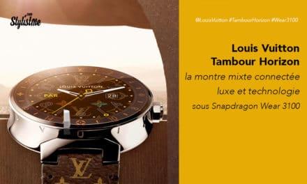 Tambour Horizon Louis Vuitton prix avis test avec Snapdragon Wear 3100
