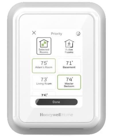 Thermostat Honeywell T9 prix avis test app