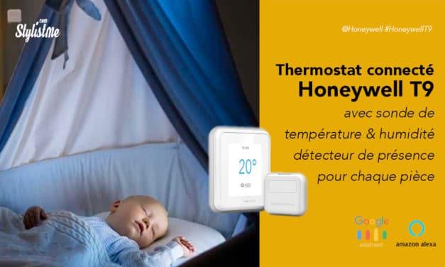 Thermostat Honeywell T9 avec sonde de température prix avis test