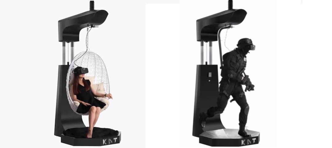 Kat walk C tapis de course casque réalité virtuelle VRKat walk C tapis de course casque réalité virtuelle VR