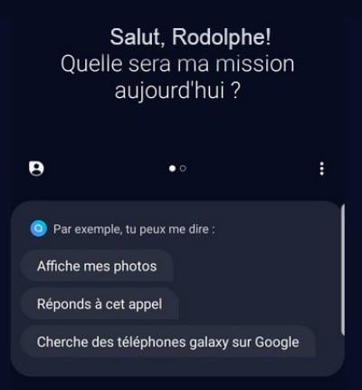 Bixby francais Samsung Galaxy Buds Galaxy S9 S10