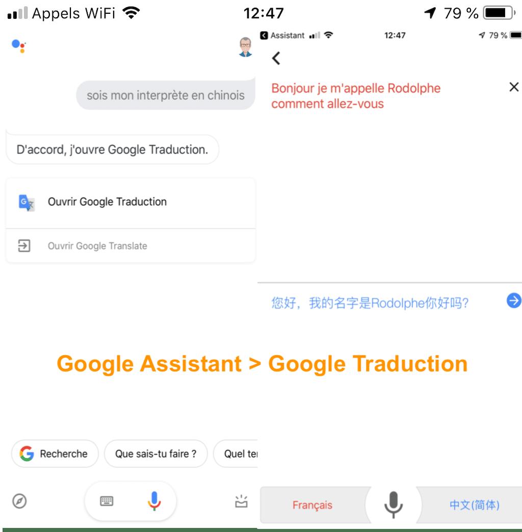 comment utiliser traduction google home google assistant