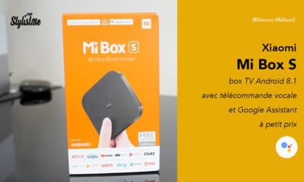 MiBox S Xiaomi 4K avis test prix Android Tv Netflix et Google Assistant