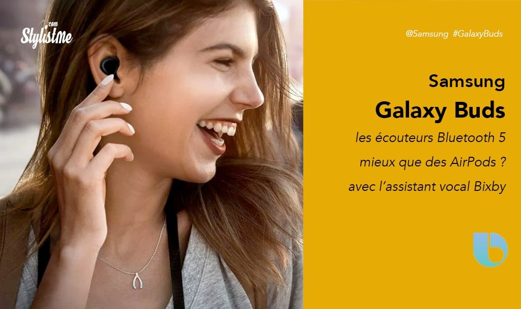 Samsung Galaxy Buds prix avis test mieux et moins chers que AirsPods