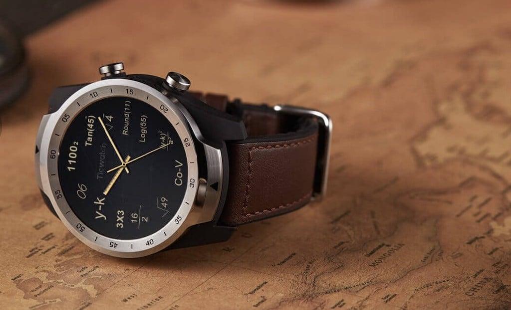 Ticwatch Pro prix avis test personnalisation cadran