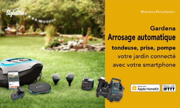 Arrosage automatique Gardena connecté à distance et compatible HomeKit