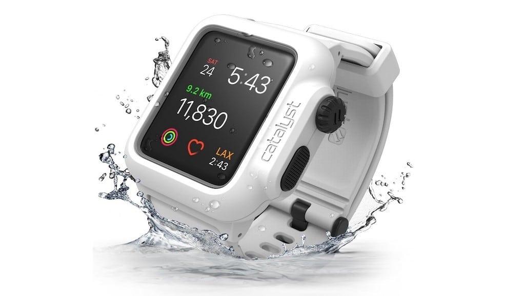 bracelet coque etanche Apple Watch