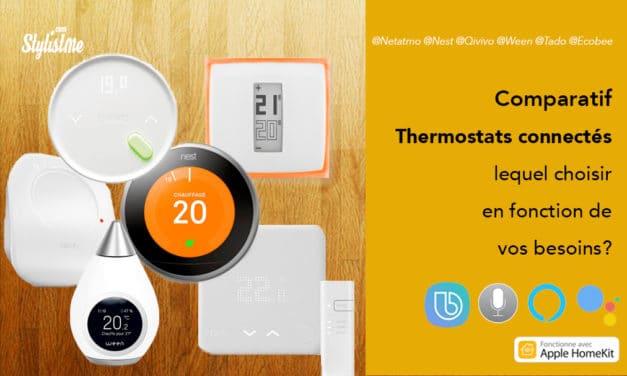 Meilleur thermostat connecté : comparatif 2020 et guide d'achat