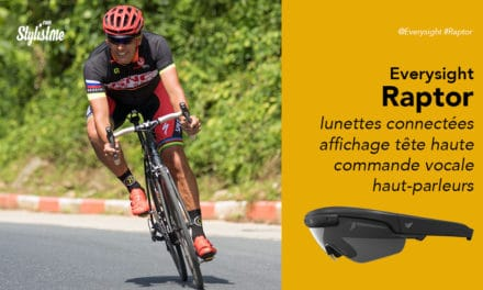 Everysight Raptor prix avis lunettes connectées pour cyclistes et triathlètes