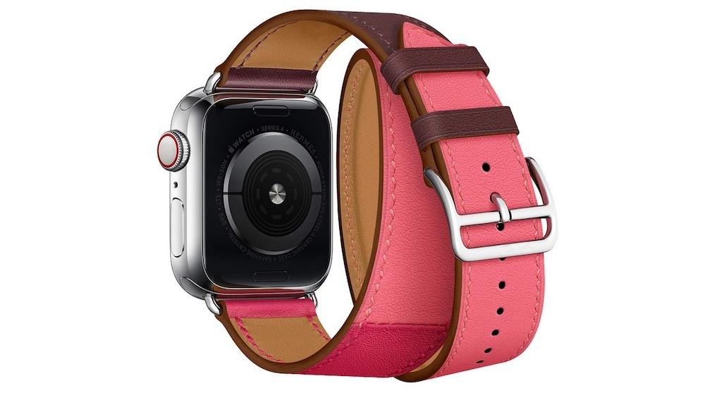 Meilleurs accessoires Apple Watch bracelet cuir Hermes bicolore