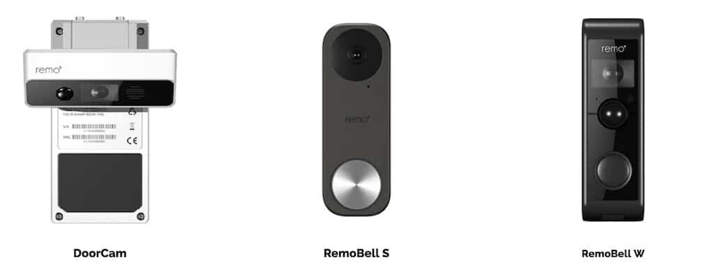 RemoBell S Doorcam RemoBell W
