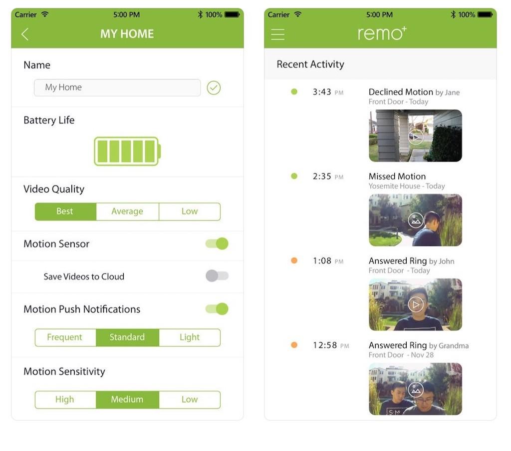 remoplus remobell s app alexa google assistant