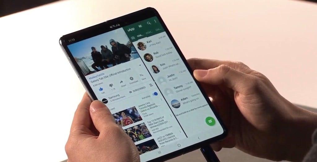 smartphones compatibles 5G Samsung Galaxy Fold