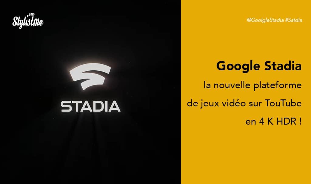 Stadia la plateforme de jeu en ligne multijoueurs de Google