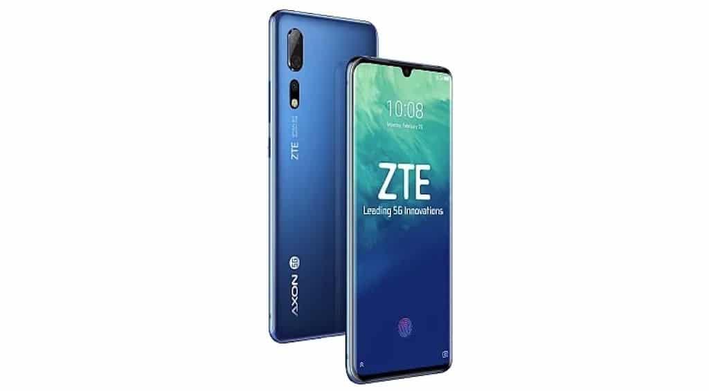 téléphone compatible 5G ZTE Axon 10 Pro 5G