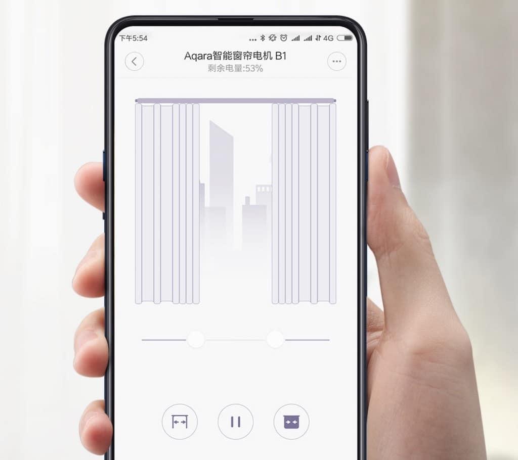 Xiaomi Aqara Smart Curtain Motor 2 app homekit Mi Home