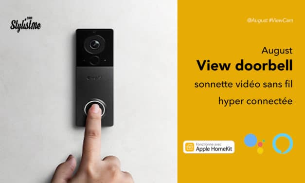 August View Doorbell prix avis test sonnette connectée sans fil