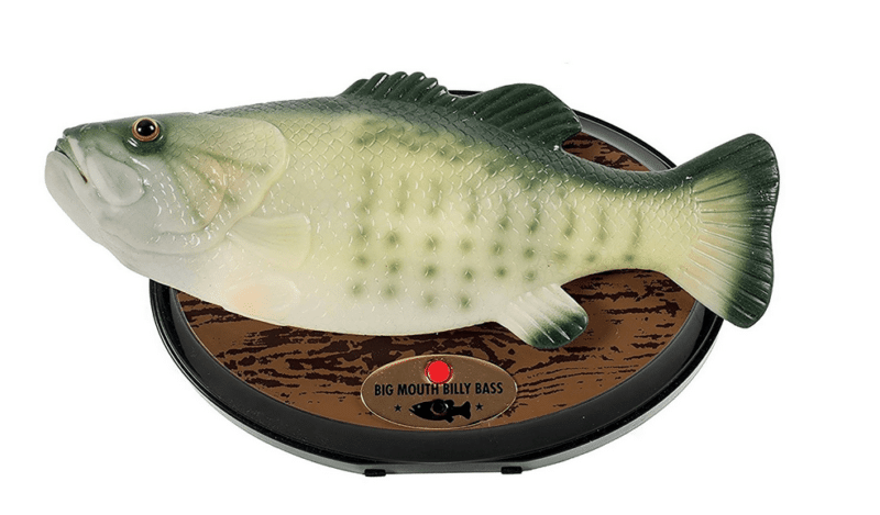 big mouth billy bass compatible alexa poisson avril