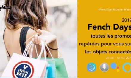 French Days 2019 objets connectés hight tech promos réduc