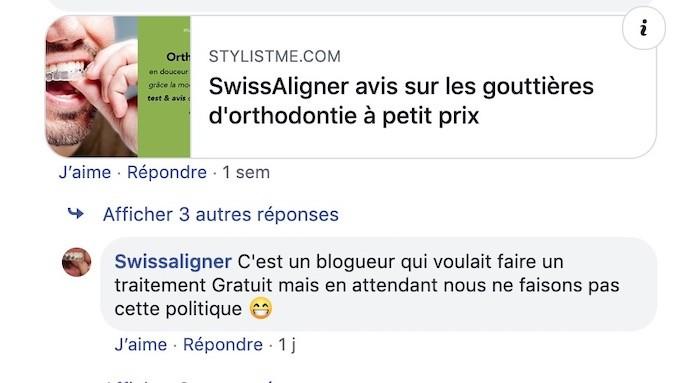 Swissaligner avis mensongé