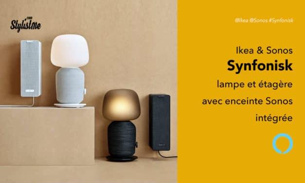 Symfonisk prix avis test lampe et étagère Ikea  avec enceintes Sonos