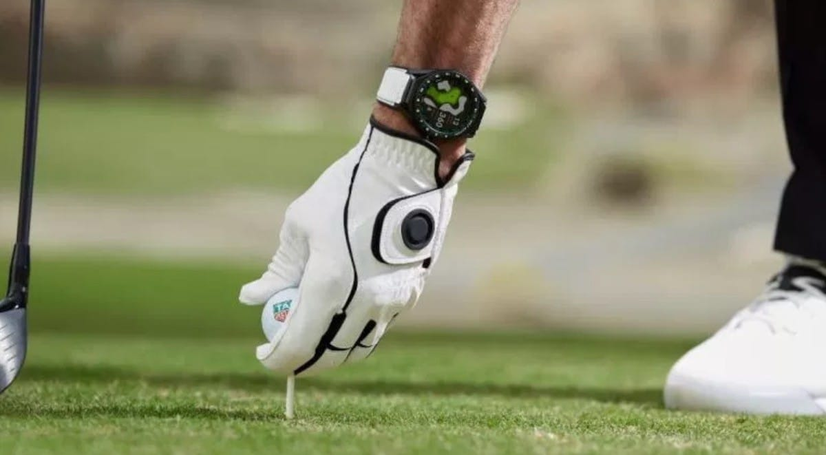 Tag Heuer Connected 45 Modular Golf Edition prix avis test parcours