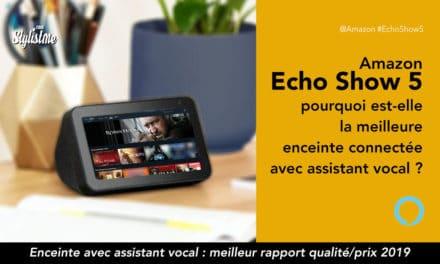 Amazon Echo Show 5 prix avis : la meilleure enceinte vocale avec écran