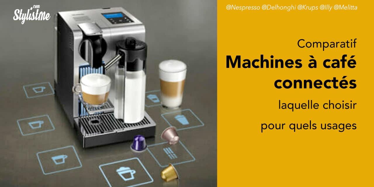 Comparatif machine à café connectée 2020 et guide d'achat