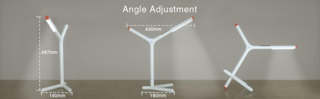 ihaper DL1 lampe position taille lampe connecteee HomeKit