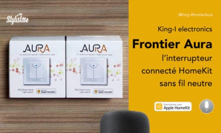 Interrupteur HomeKit Frontier Aura enfin une solution sans fil neutre