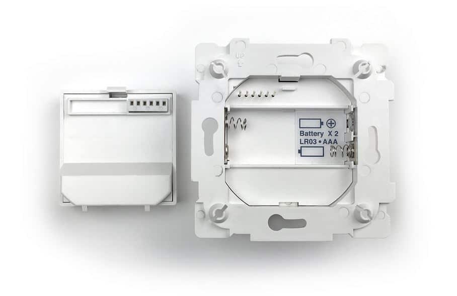 Interrupteur HomeKit Frontier Aura installation