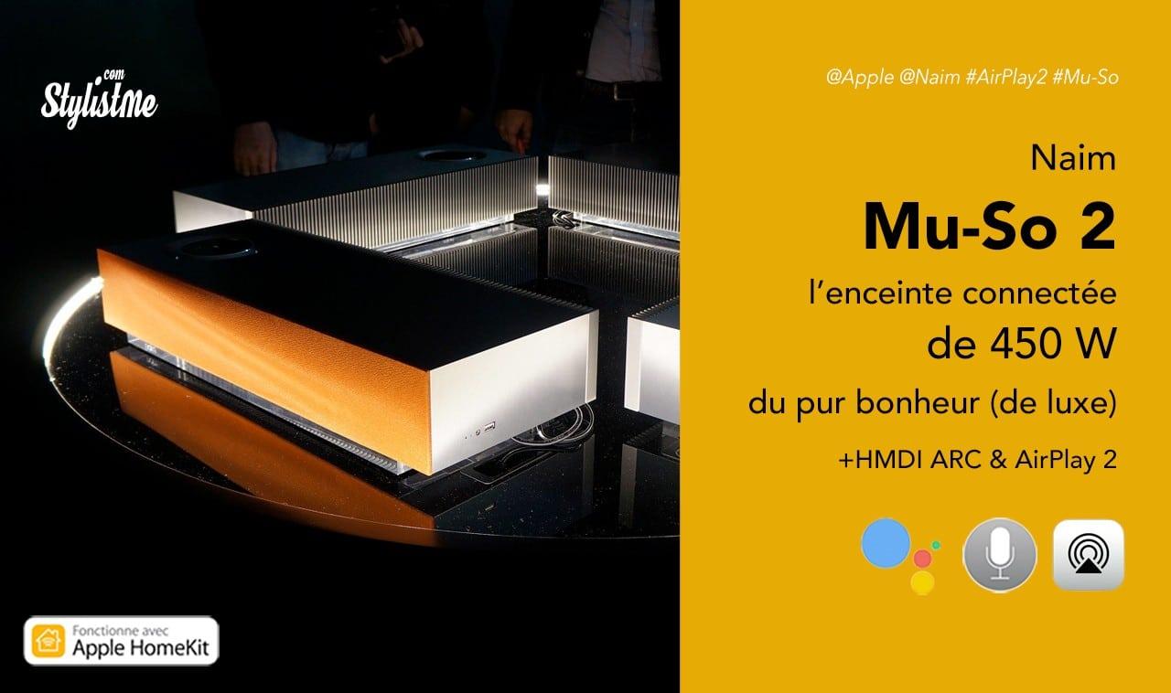 Naim Mu-so 2 prix avis test des 450 W de pur plaisir avec AirPlay 2