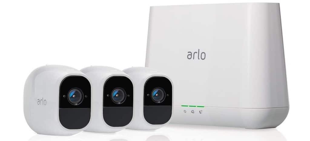 Caméras Sonete Arlo Pro 3 Ultra compatible Nest Hub