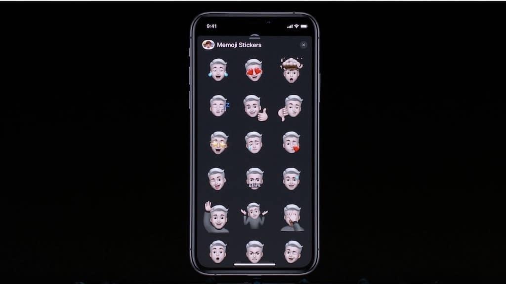 iOS 13 avatar personnalisé