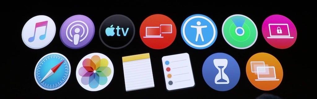 macOS catalina apps iPad iPhone MacBook