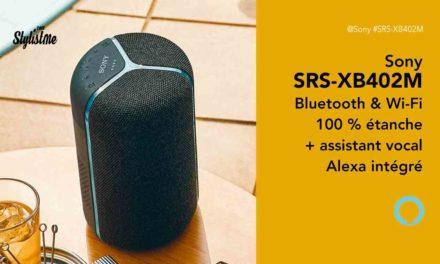 Sony SRS-XB402M enceinte Bluetooth étanche avec Alexa intégrée