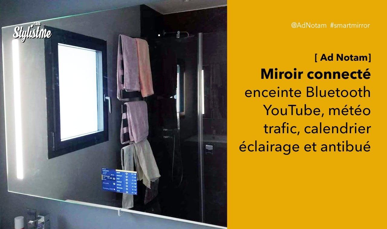 Ad Notam miroir connecté avis prix