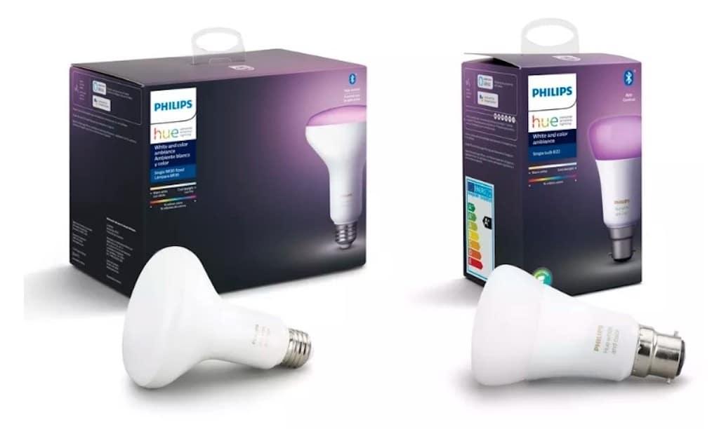 ampoules Philips Hue Bluetooth sans hub avis prix