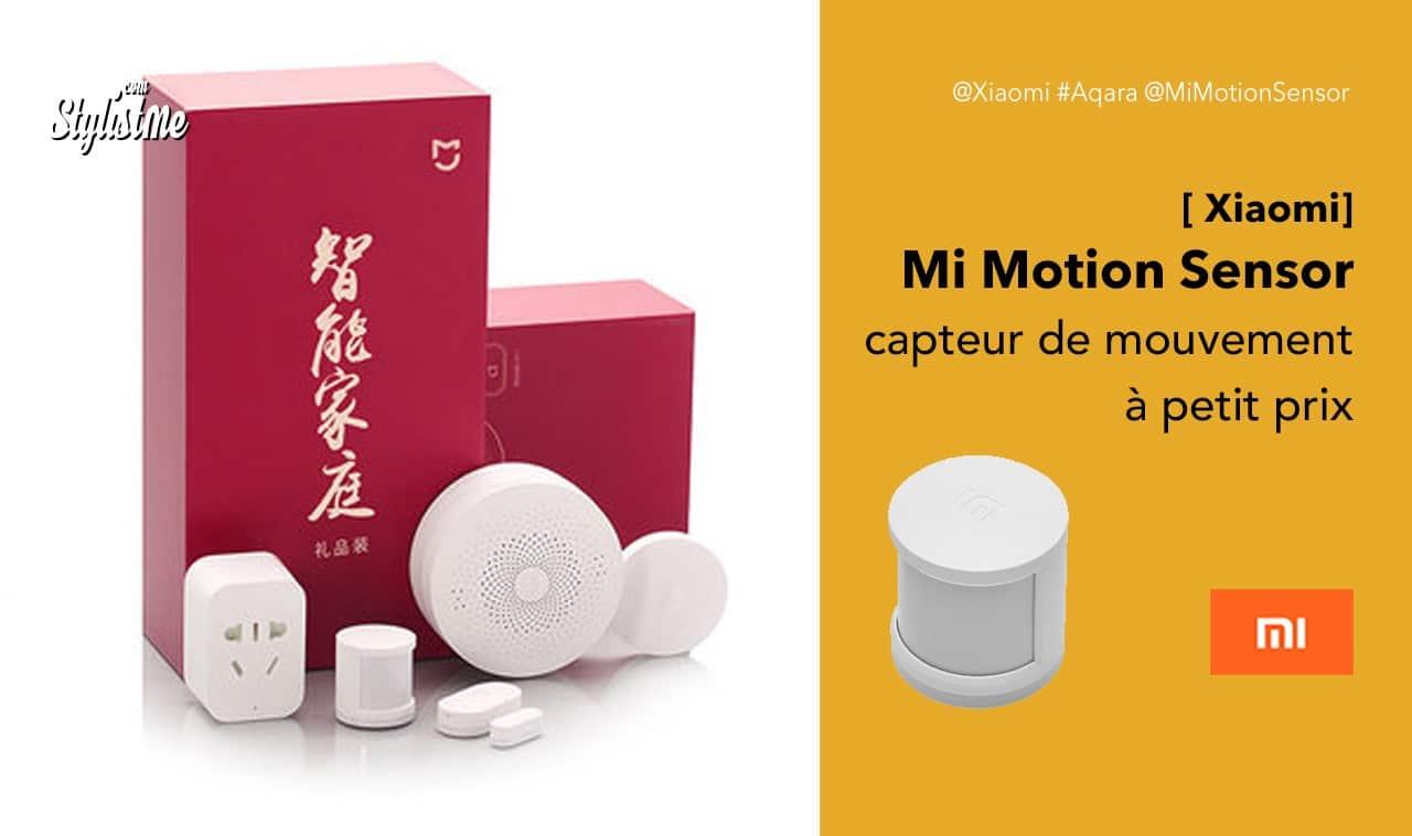 Mi Motion Sensor Xiaomi prix test avis