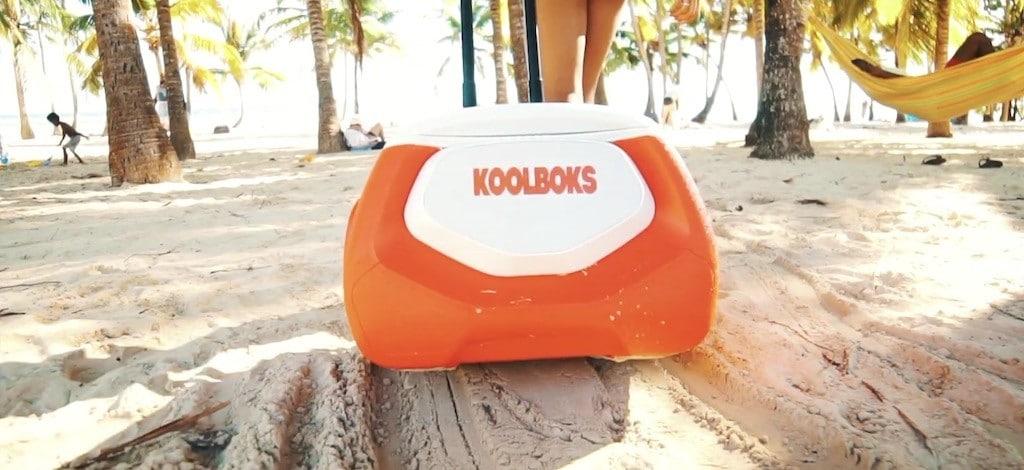 roulettes Koolboks sable